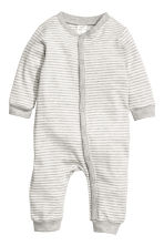 2-pack jersey pyjama suits - Natural white/Owl - Kids | H&M CN 3