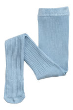 2-pack tights - Grey/Blue-green - Kids | H&M CN 3