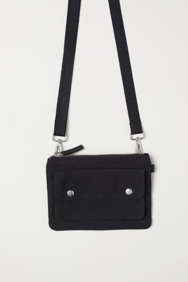 Cotton canvas shoulder bag Model