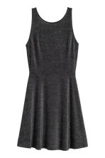 Short dress - Black/Glittery -  | H&M IE 2