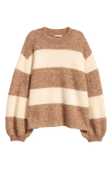 Knit Mohair-blend Sweater