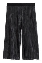 Pleated trousers - Black - Kids | H&M CN 2