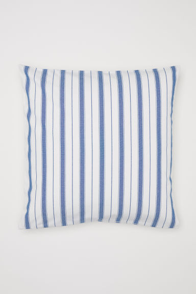 Striped Cushion Cover Model