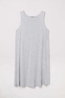 H&M+ Sleeveless jersey tunic