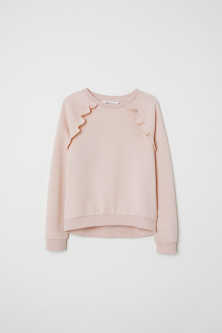 Sweater met volants