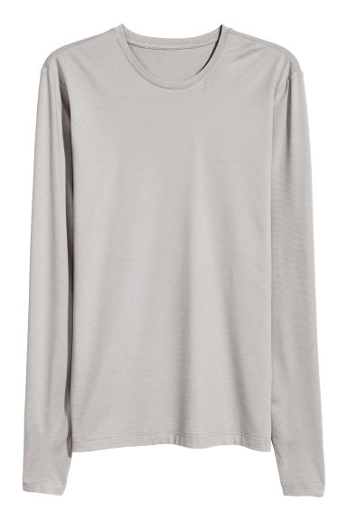T-shirt thermo-isolant - Gris chiné - HOMME | H&M BE