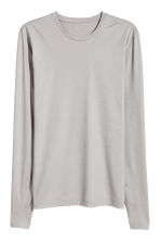 T-shirt thermo-isolant - Gris chiné - HOMME | H&M FR 2