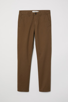 Cotton Chinos Skinny fit