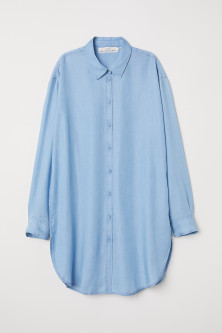 Long Lyocell Shirt