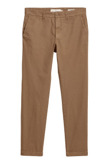 Chinos i bomull Slim fit