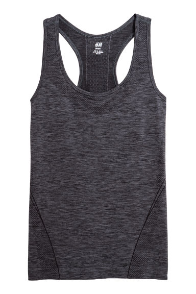 Seamless Sports Tank Top Model