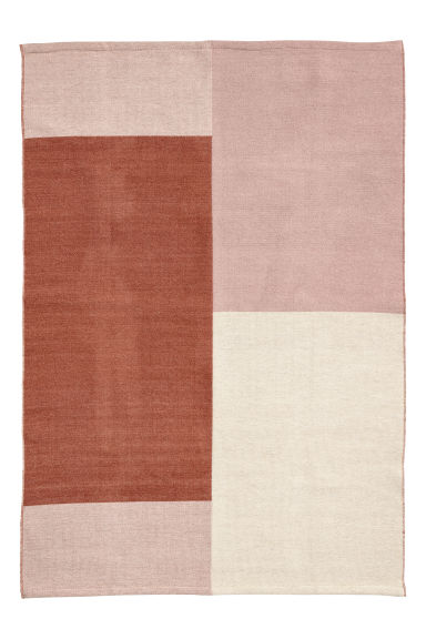 Wool-blend rug - Rust brown/Multicoloured -  | H&M IE