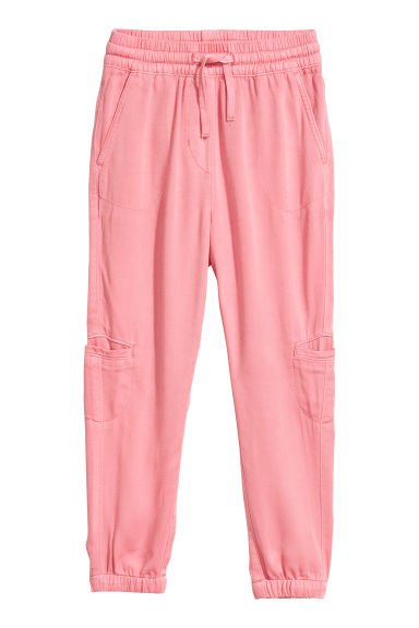 Pull-on trousers - Coral pink -  | H&M