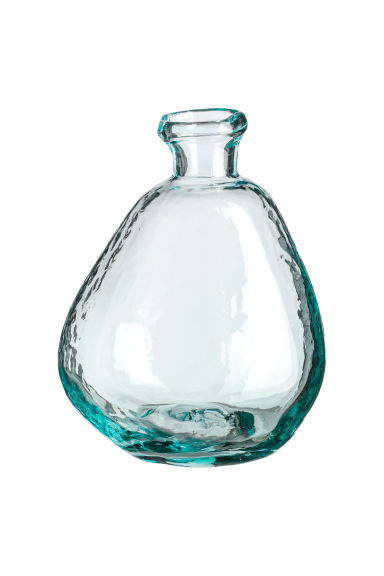 Vase asymétrique en verre - Verre transparent - Home All | H&M FR