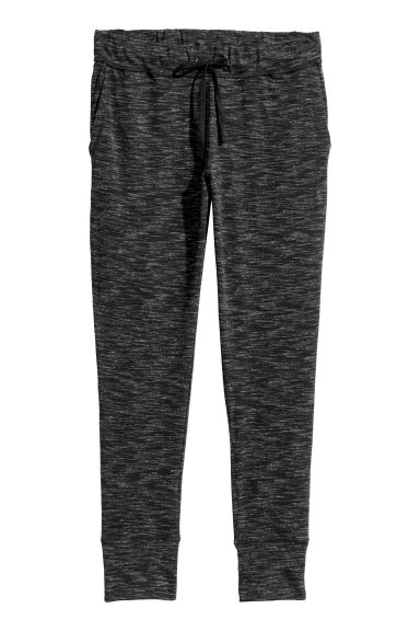 H&M+ Joggers - Black marl - Ladies | H&M