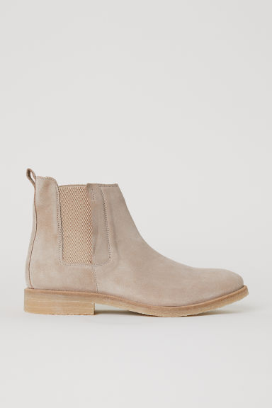 Chelsea boots - Beige - Men | H&M GB