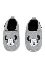 Slippers - Grey marl/Minnie Mouse - Kids | H&M CN 1