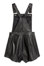 Dungaree shorts - Black - Ladies | H&M CN 3