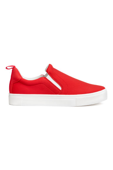 Slip-on trainers - Red -  | H&M