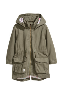 Parka avec applications