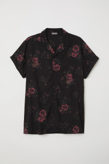 Short-sleeved Resort Shirt