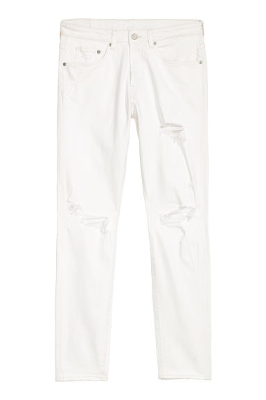 Trashed Skinny Jeans - Bianco -  | H&M IT