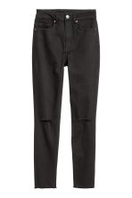 Petite fit Slim Ankle Jeans - Black - Ladies | H&M 3