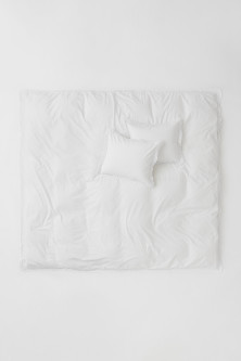 Lace-trimmed Duvet Cover Set