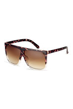 Sunglasses - Brown/Tortoiseshell-patterned - Ladies | H&M IE 2