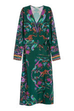 Patterned dress - Dark green/Patterned - Ladies | H&M 2