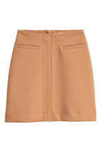 Knee-length skirt - Beige - Ladies | H&M GB 2