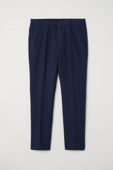 Linnen pantalon - Slim fit