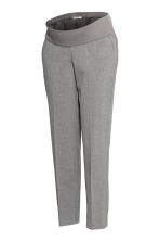 MAMA Cigarette trousers - Light grey - Ladies | H&M IE 2