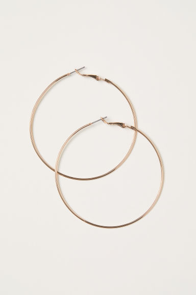 Hoop earrings - Gold - Ladies | H&M