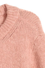 Mohair-blend jumper - Powder pink - Ladies | H&M 3