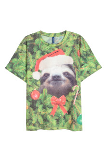 T-shirt with Christmas-motif