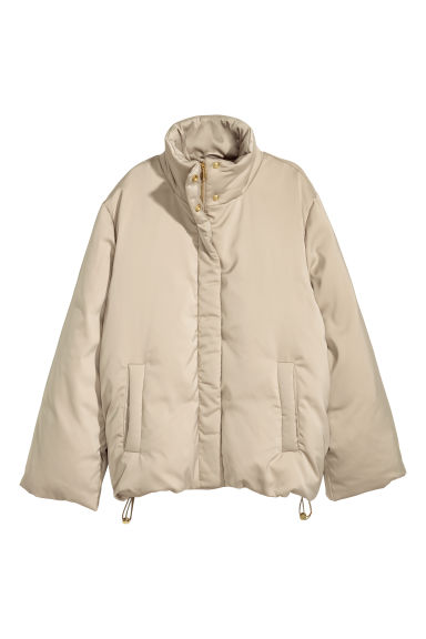 Down jacket - Beige - Ladies | H&M