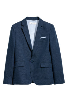 Blazer à bouton unique