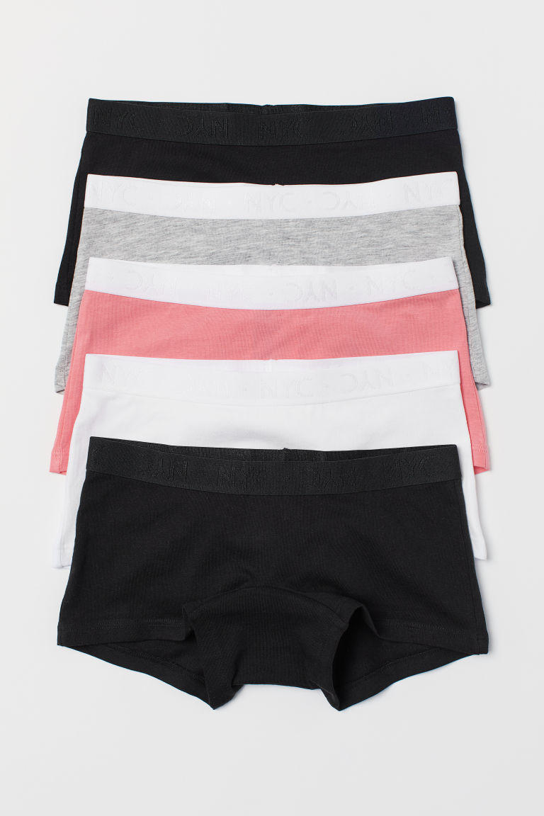 5-pack cotton boxers - Coral - Kids | H&M GB