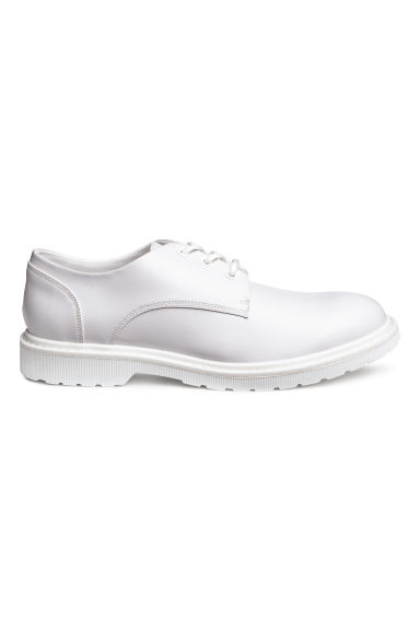 Derby shoes with chunky soles - White - Men | H&M IE