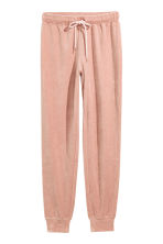 Velour pyjama bottoms - Pink - Ladies | H&M 2