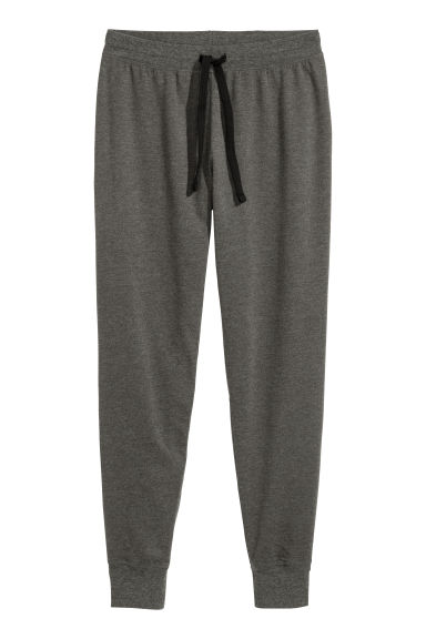 Pyjama bottoms - Dark grey marl - Ladies | H&M