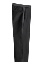Wool-blend suit trousers - Black - Ladies | H&M IE 3
