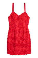 Fitted dress - Red - Ladies | H&M 2
