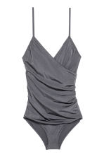 Shaping swimsuit - Dark grey - Ladies | H&M IE 2