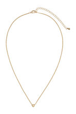 Necklace and studs - Gold-coloured - Ladies | H&M 2