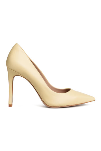 Court shoes - Light yellow - Ladies | H&M GB