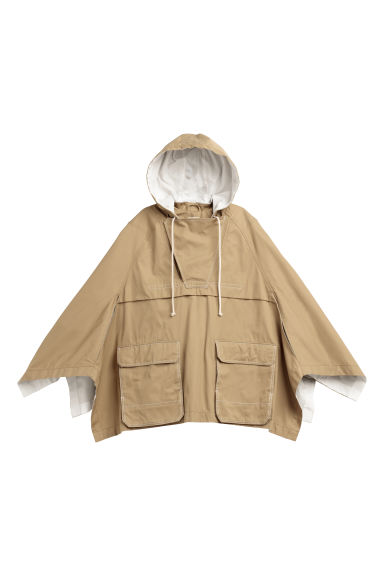 Cotton cape - Khaki beige - Ladies | H&M