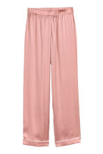 Silk pyjama bottoms - Pink - Ladies | H&M IE 2