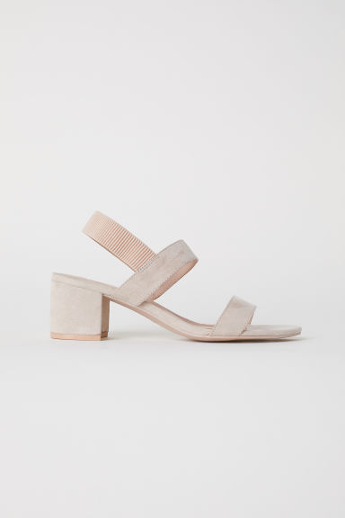 Sandals - Light beige - Ladies | H&M CN